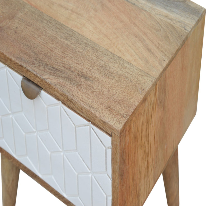 Arsen - 1 Drawer Bedside Table