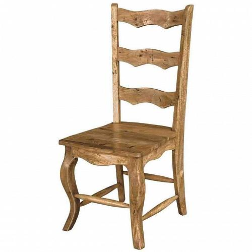 Ladder Back French Style Dining Chair - HM_FURNITURE