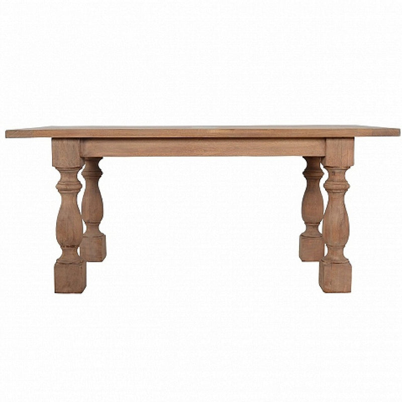 Handcrafted Solid Wood Dining Table - HM_FURNITURE