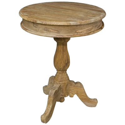 Handcrafted Round Tea Table - HM_FURNITURE