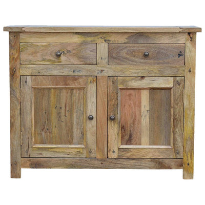 Handcrafted Distressed Sideboard With 2 Drawers and 2 Cabinets - HM_FURNITURE