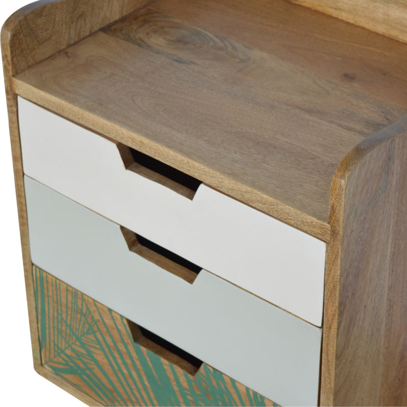 Edith - 3 Drawer Bedside, Gallery Back