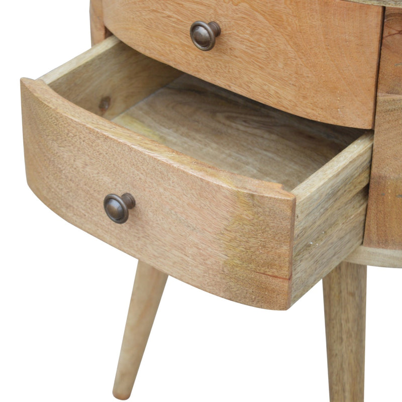 London 2 Drawers Bedside