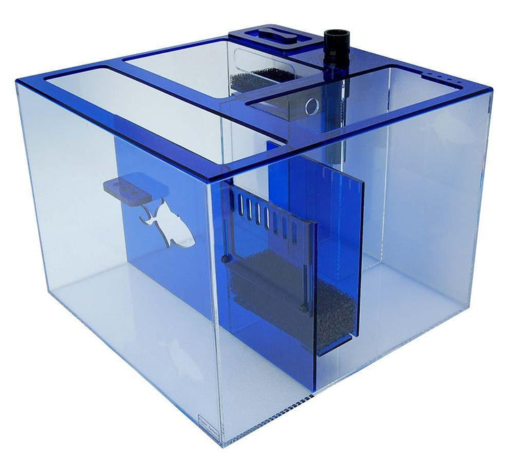 Refugiums And Sumps - Trigger Systems Sapphire Blue Cube 20""