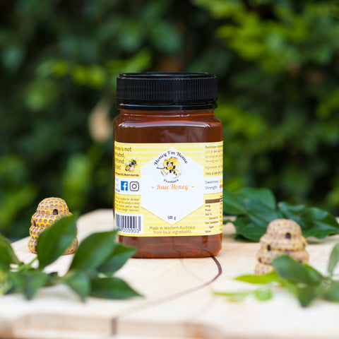 Raw Honey - Red Gum ('Marri' in Noongar)