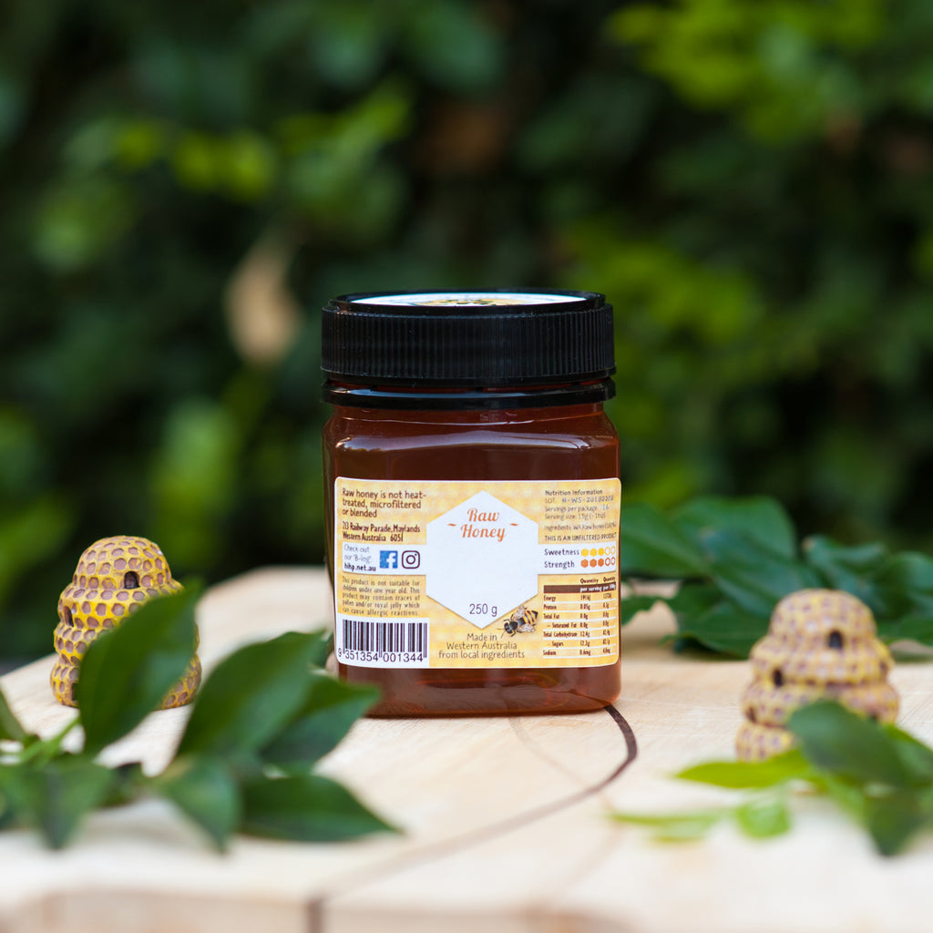 Raw Honey - Urban Wildflower