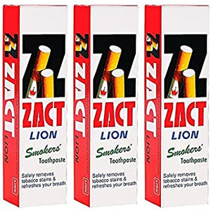 ZACT LION, SMOKERS TOOTHPASTE