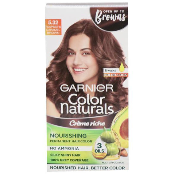 GARNIER COLOR NATURAL TAAPSEE'S CARAMEL BROWN 70ML+60G