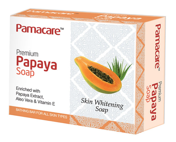 PAMACARE PAPAYA SOAP, 75gm