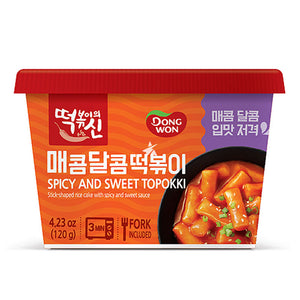 DONGWON SPICY AND SWEET TOPOKKI [120G]