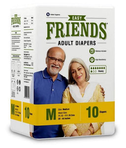 EASY FRIENDS ADULT DIAPERS (M)