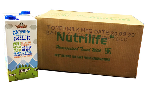NUTRILIFE MILK CASE[1LTR*12]