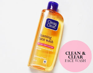 CLEAN & CLEAR, FOAMING FACE WASH. 100ml