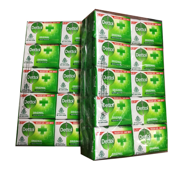 DETTOL ORIGINAL SOAP [45G*30PIECES)