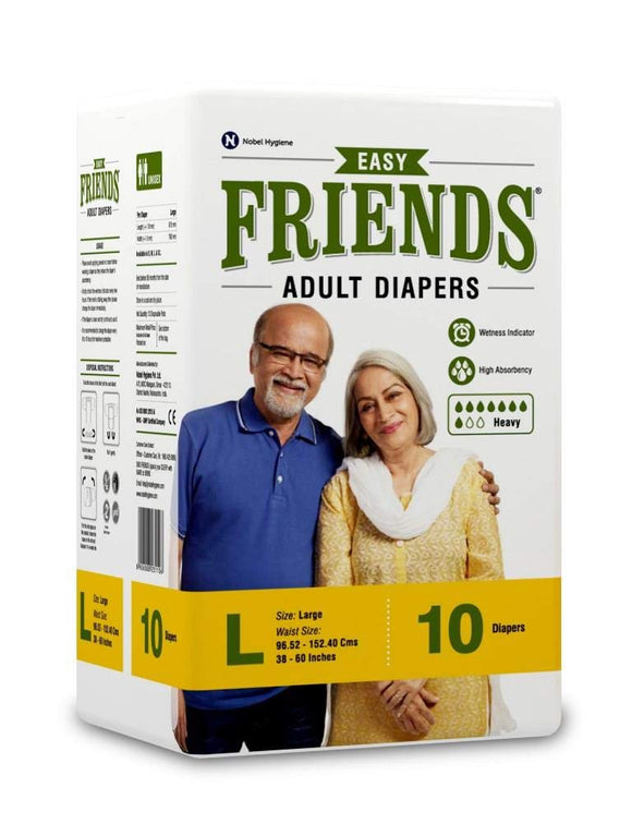 EASY FRIENDS ADULT DIAPERS (L)