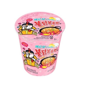 SAMYANG CARBONARA HOT CHICKEN FLAVOR RAMEN  (80G)