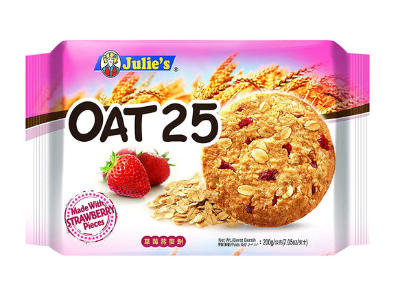 OAT 25 MADE WITH STRAWBERRY PIECES (200GRAM)