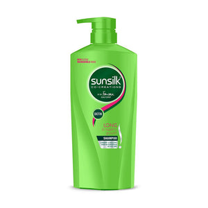 SUNSILK HEALTHIER & LONG SHAMPOO (450ML)