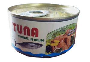TUNA CHUNKS IN BRINE (185G)