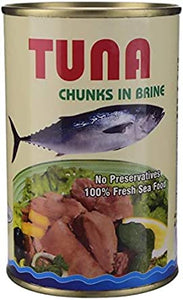 TUNA CHUNKS IN BRINE(450G)