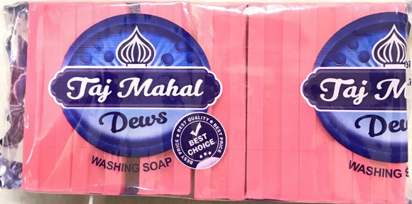TAJ MAHAL PINK SOAP 90GM*7(PACKET)