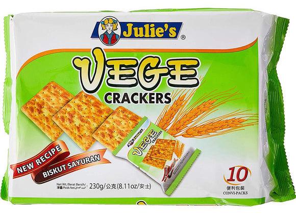 VEGE CRACKERS 230GRAM