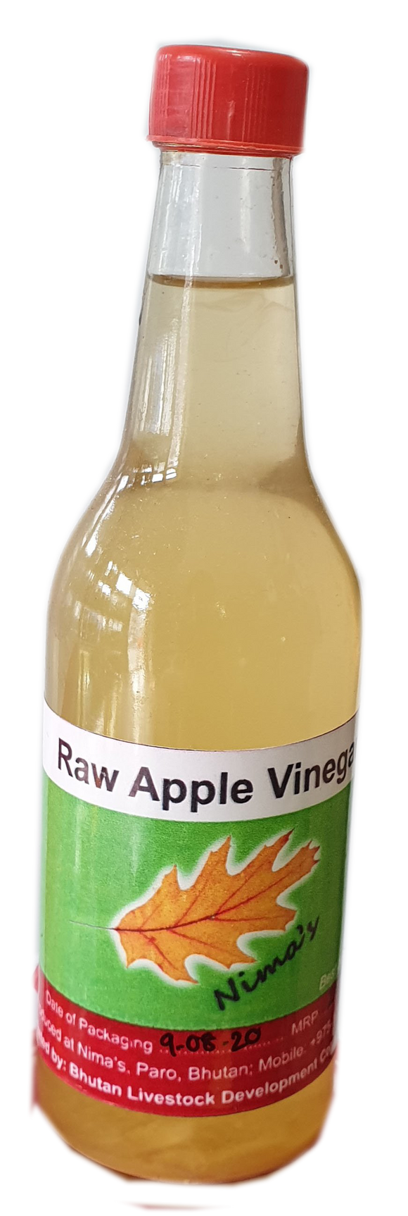 RAW APPLE VINEGAR 400ML, BHUTAN