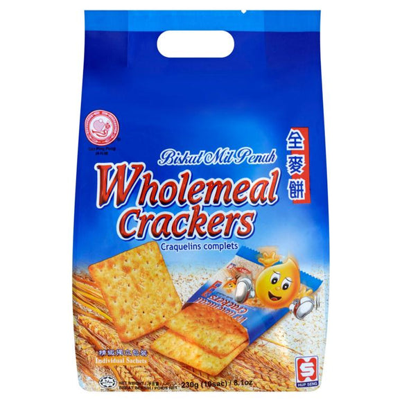 WHOLEMEAL CRACKERS (230G)