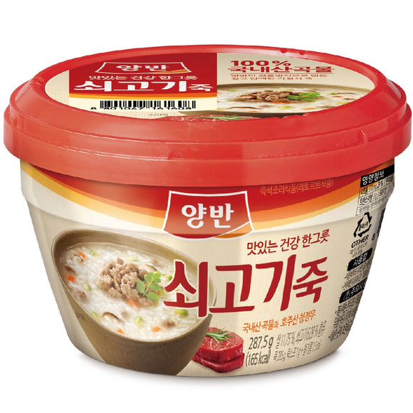 DONGWON RICE PORRIDGE WITH BEEF [285G]