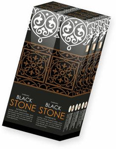 DARSHAN BLACK STONE INSENSE STICKS, 100GM