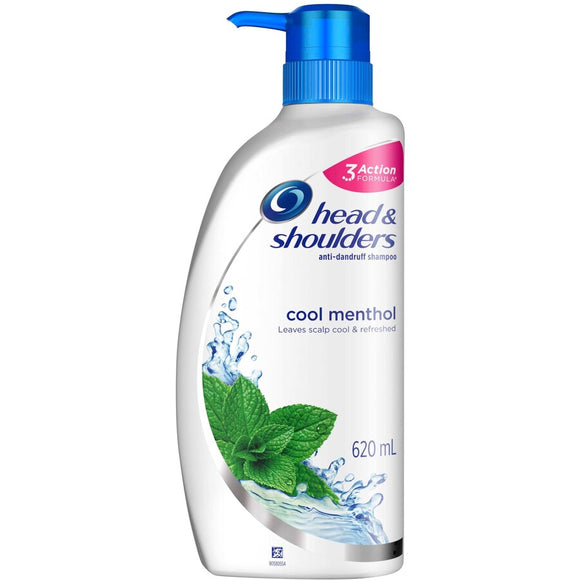 HEAD & SHOULDERS ANTI-DANDRUFF SHAMPOO COOL MENTHOL