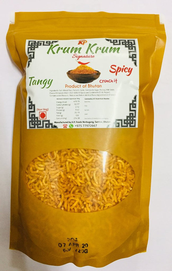 KRUM KRUM CRUNCH IT WITH SPICY TANGY, 225g