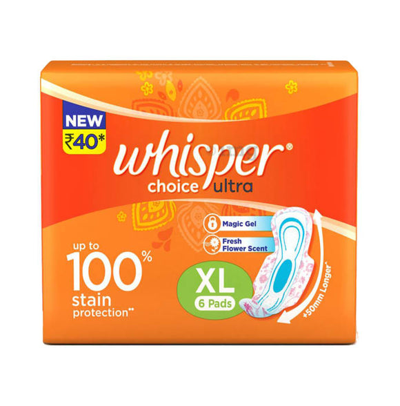 WHISPER CHOICE ULTRA XL (6PADS)