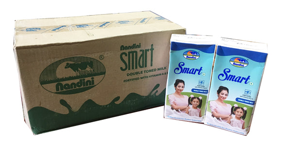 SMART DOUBLE TONED MILK [1LTR x 12]