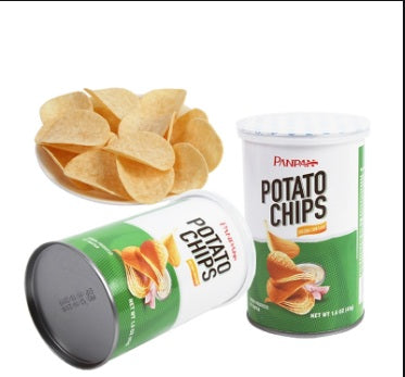 PANPAN POTATO CHIPS SOUR CREAM & ONION FLAVOUR [110G]