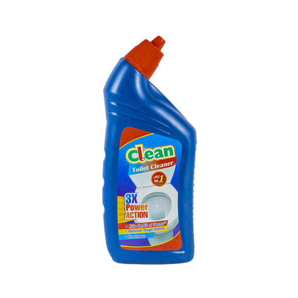 CLEAN TOILET CLEANER , ALL IN 1 [24 X 500ML]