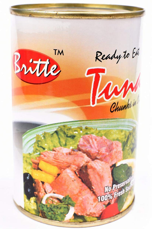 BRITTE TUNA CHUNKS IN OIL (450GM)