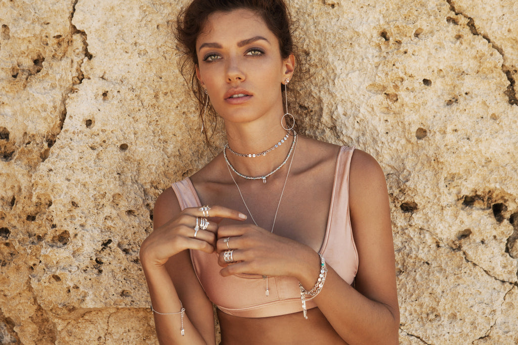 Krystle Knight Jewellery x Cantik Swimwear