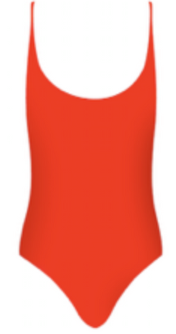 Byron One Piece - Red