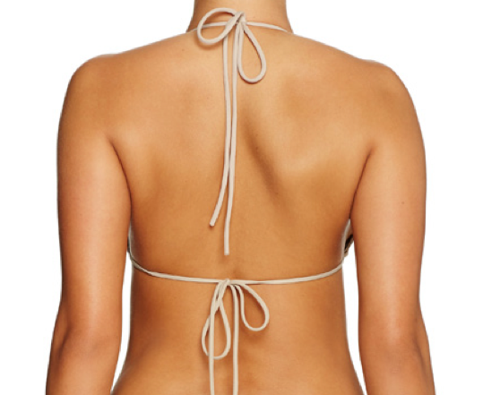 String Along Top CAMEL - Cantik Swimwear