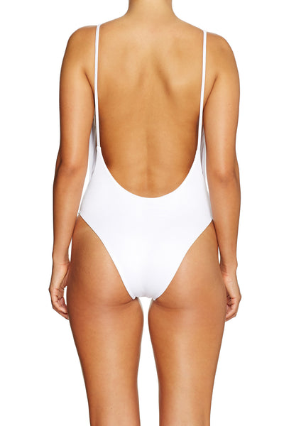 Byron One Piece RIBBED WHITE