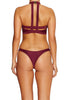 Truant Top BORDEAUX - Cantik Swimwear