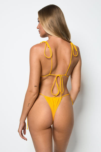 Miami Top - Marigold - Cantik Swimwear