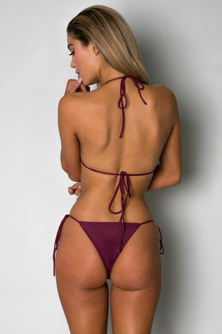 String Along Top BORDEAUX