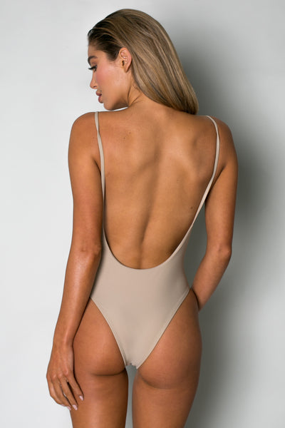 Byron One Piece CAMEL - Cantik Swimwear