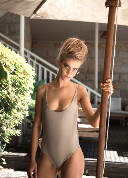 Byron One Piece ARMY - Cantik Swimwear