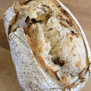 Caramelized Onion and Dill Bread