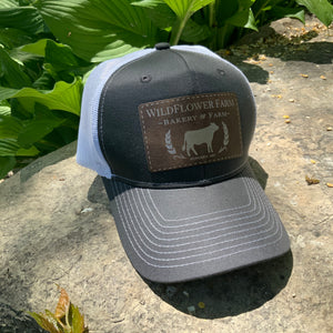 Trucker Hat with Leather Patch