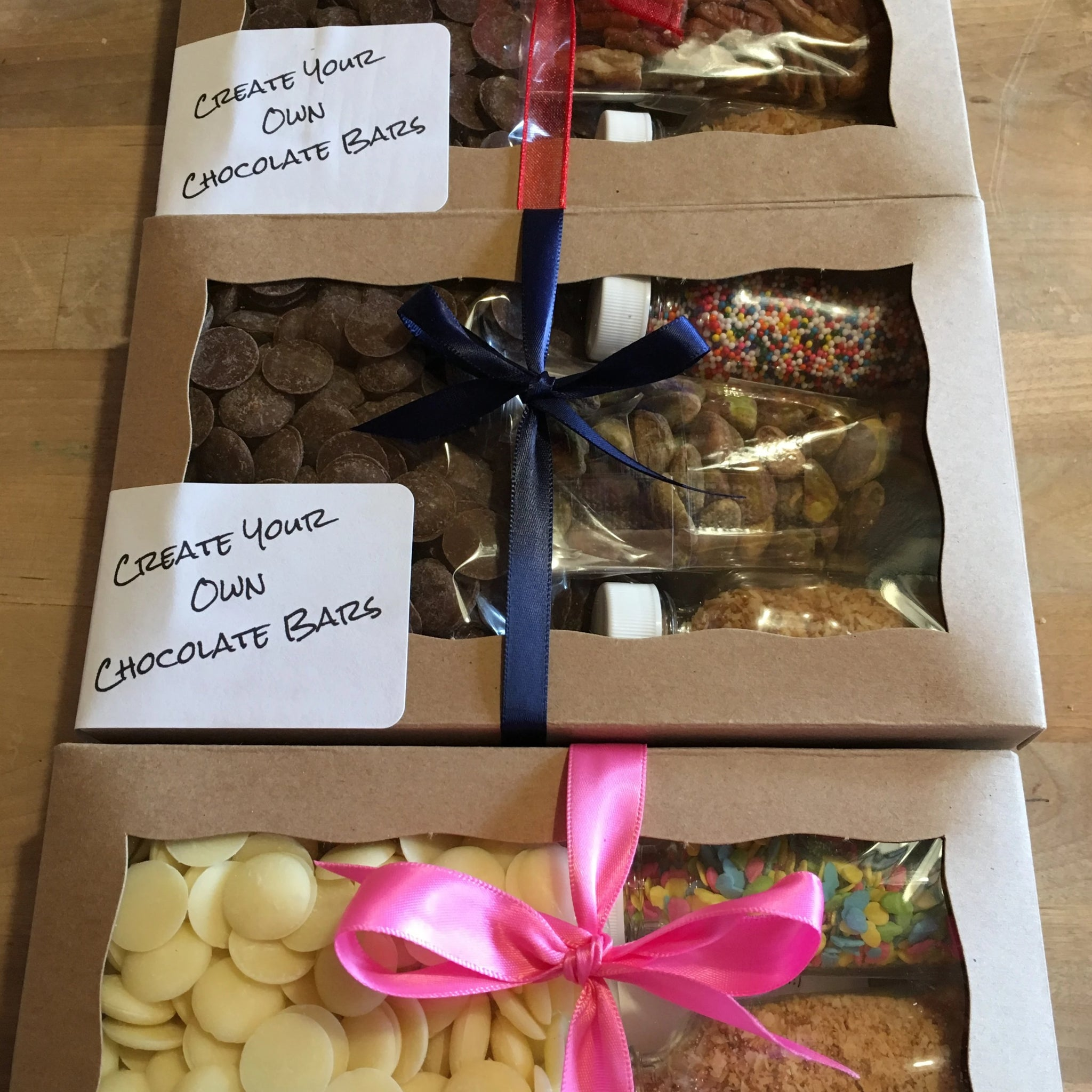 Create Your Own Chocolate Bar Kit
