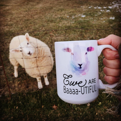 Ewe Are Baa-utiful Mug